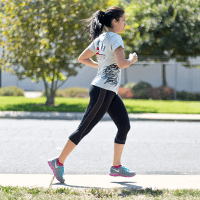 Alisa running