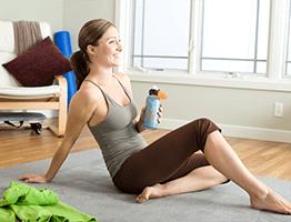 Pilates at home