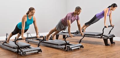 Allegro Reformer workout