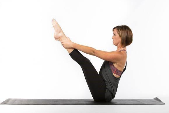 Pilates Mat Pose