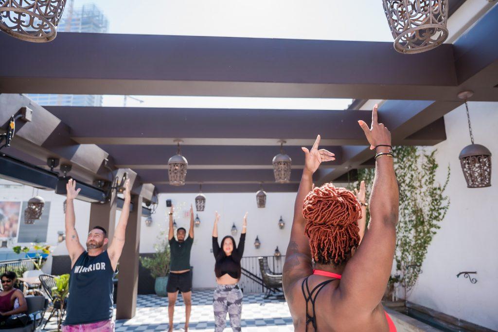 Mychele Sims Get 2 Werk Pilates Instructor