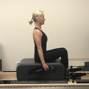 Pilates and PT Rehab Reformer Chest Expansion Exercise