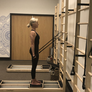 Pilates and PT Rehab CoreAlign Chest Expansion Exercise