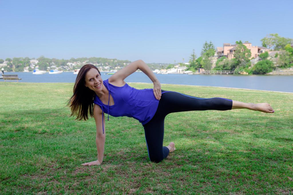 Vanessa Bartlett postpartum pilates tips