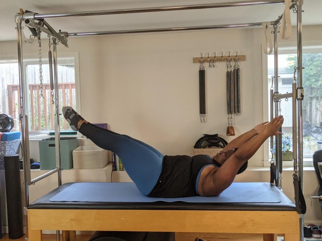 Big Curvy Pilates Body